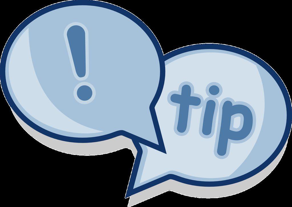 dialog, tip, advice