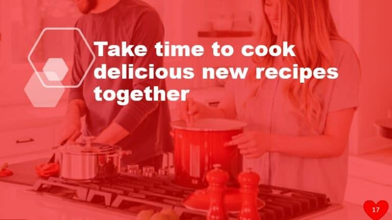 Take time to cook delicious new recipes together