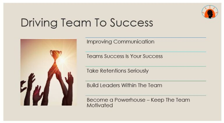 Driving Team To Success